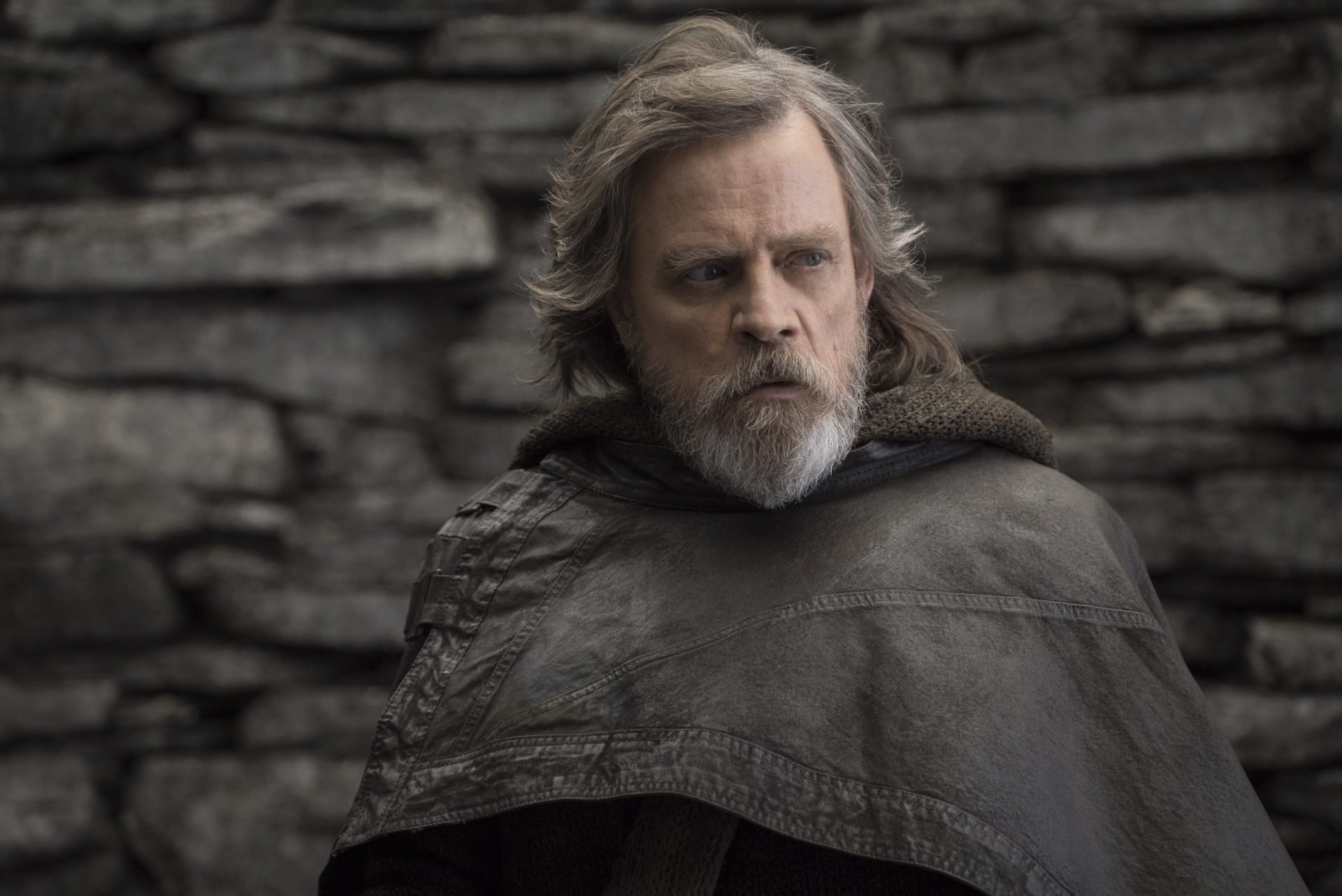Mark Hamill als Luke Skywalker in Star Wars Die letzten Jedi