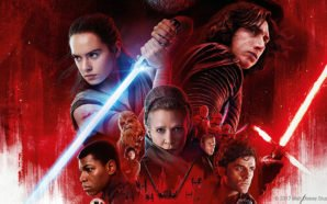 Der Hauptcast aus Star Wars 8 Die Letzten Jedi auf dem offiziellen Plakat