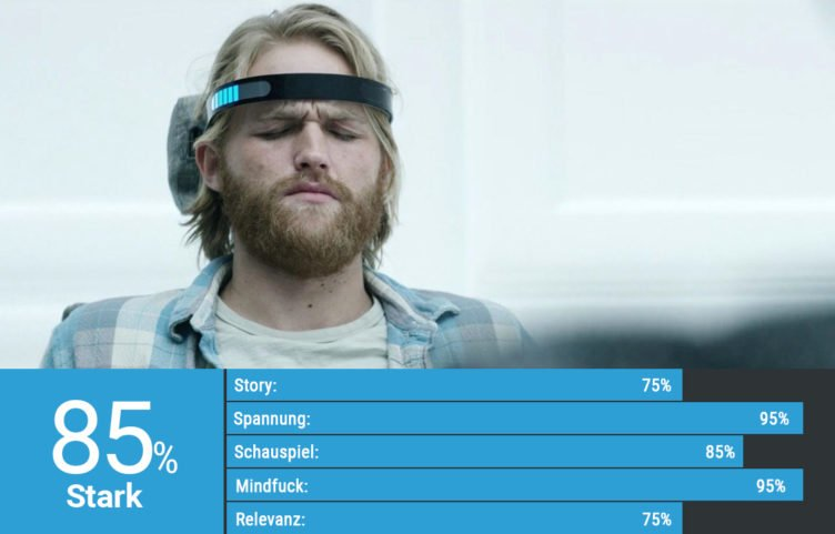 Wyatt Russell in Black Mirror Staffel 3 Episode Erlebnishunger