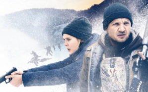 Elizabeth Olsen und Jeremy Renner in Poster für Kritik Wind River