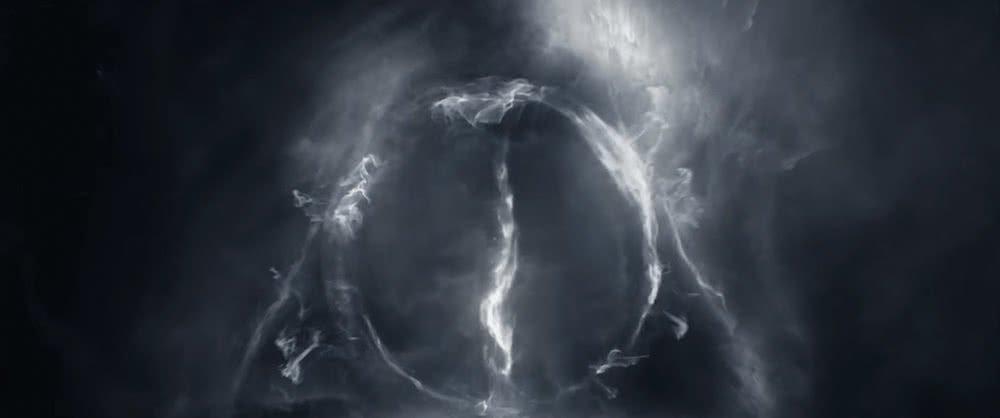Das Zeichen der Heiligtümer des Todes in einem Szenenbild für Phantastische Tierwesen Grindelwalds Verbrechen Traileranalyse