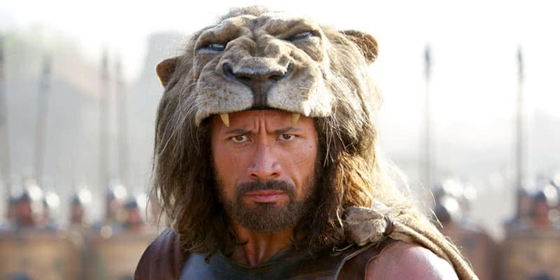 The Rock als Hercules.