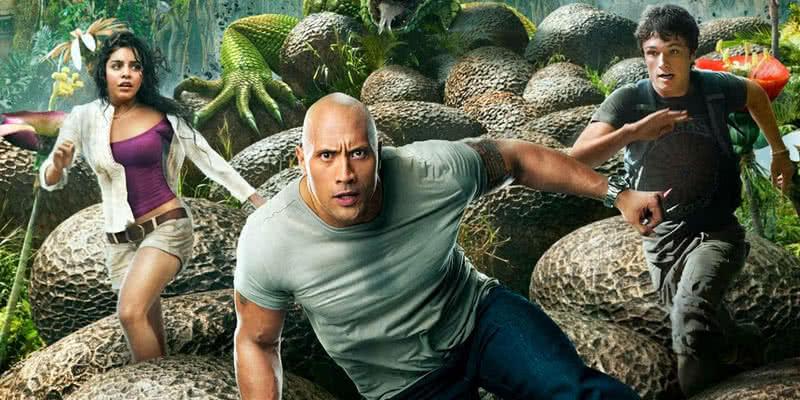 Johnson in seiner Rolle als Hank Parsons in Reise zur geheimnisvollen Insel