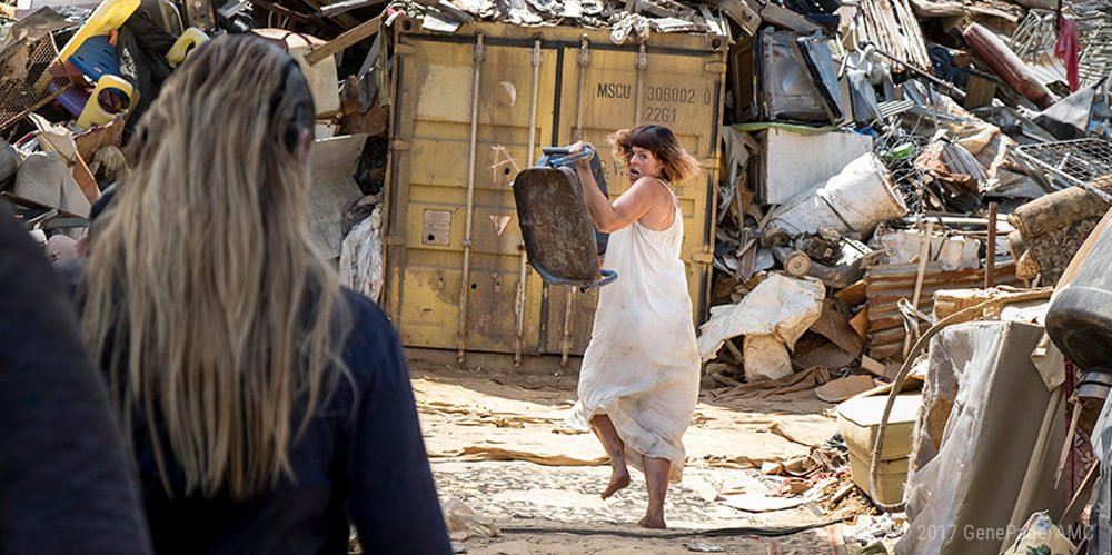 Jadis (Pollyanna McIntosh) in The Walking Dead Staffel 8 Episode 10