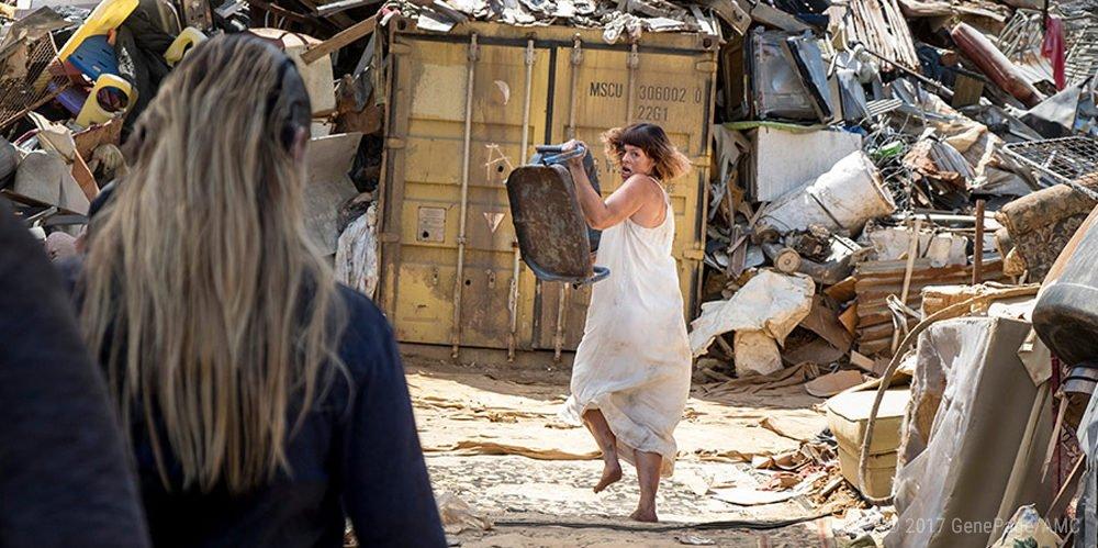 Jadis (Pollyanna McIntosh) in The Walking Dead Staffel 8 Episode 10
