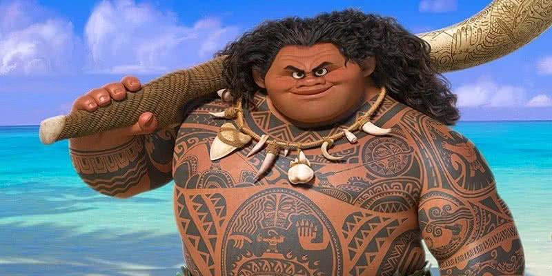 Dwayne Johnson verleiht im Original in Vaiana dem Halbgott Maui seine Synchronstimme.