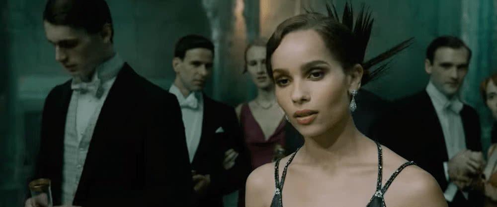 Leta Lestrange (Zoe Kravitz) in einem Szenenbild für Phantastische Tierwesen Grindelwalds Verbrechen Traileranalyse