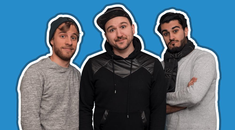 Sandro Trotta, Nono Weinzierl und Keyvan Az die Gründer von 4001Reviews.png