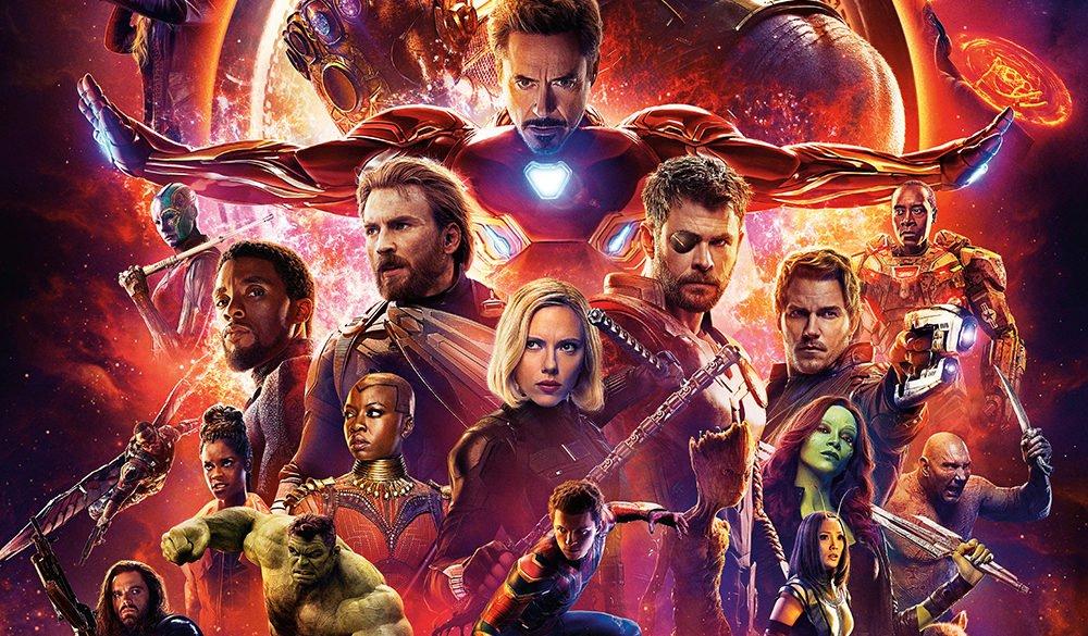 Ausschnitt des Kinoplakats zu Marvel's Avengers Infinity War