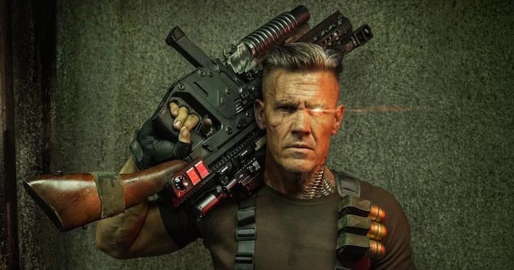 Josh Brolin als Cable in einem Szenenbild für Kritik Deadpool 2.