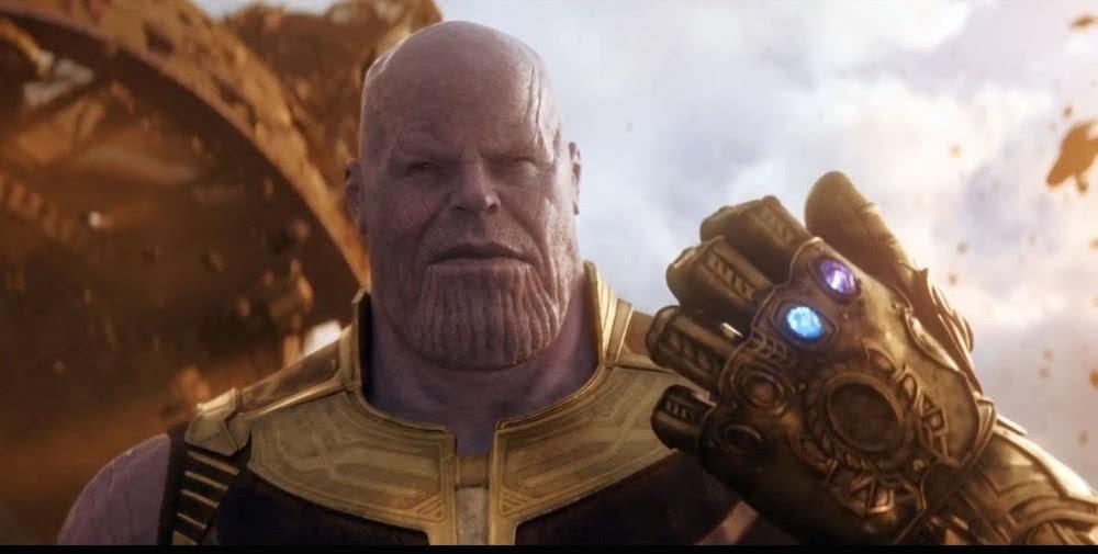 Josh Brolin als Thanos in einem Szenenbild aus Avengers Infinity War