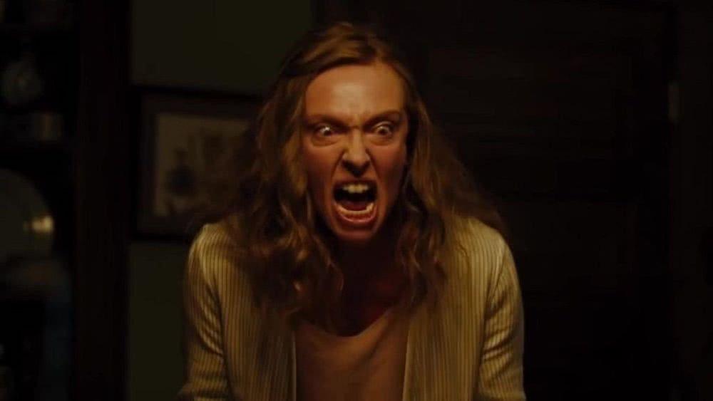 Tony Collette in einem Szenenbild für Kritik Hereditary