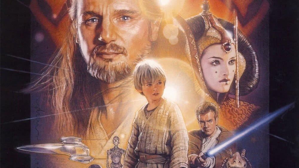 Poster für Star Wars Episode I Die Dunkle Bedrohung