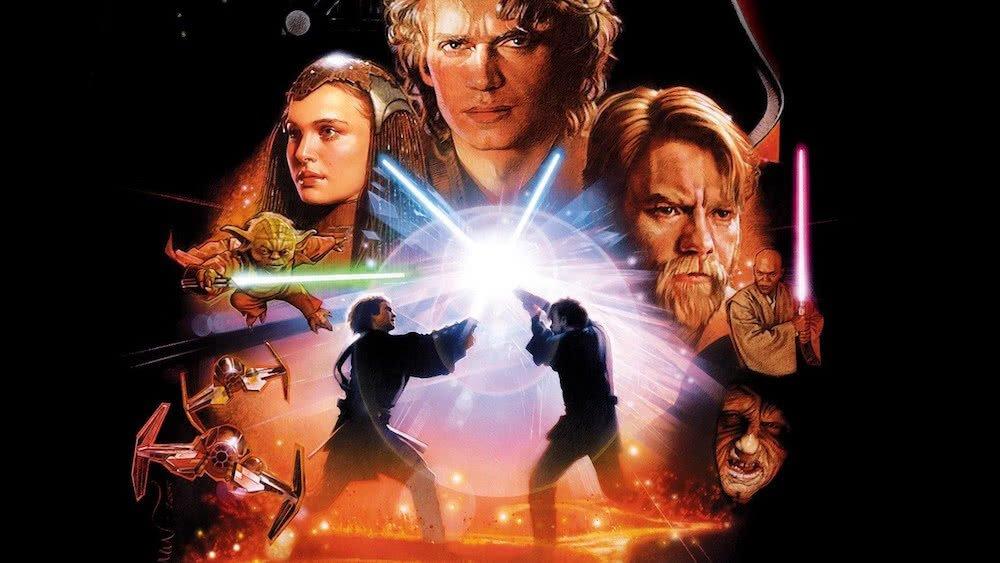 Poster für Star Wars Episode III Die Rache der Sith