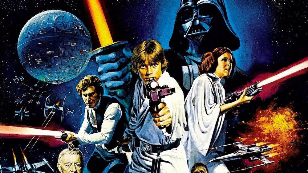 Poster für Star Wars Episode IV Eine Neue Hoffnung