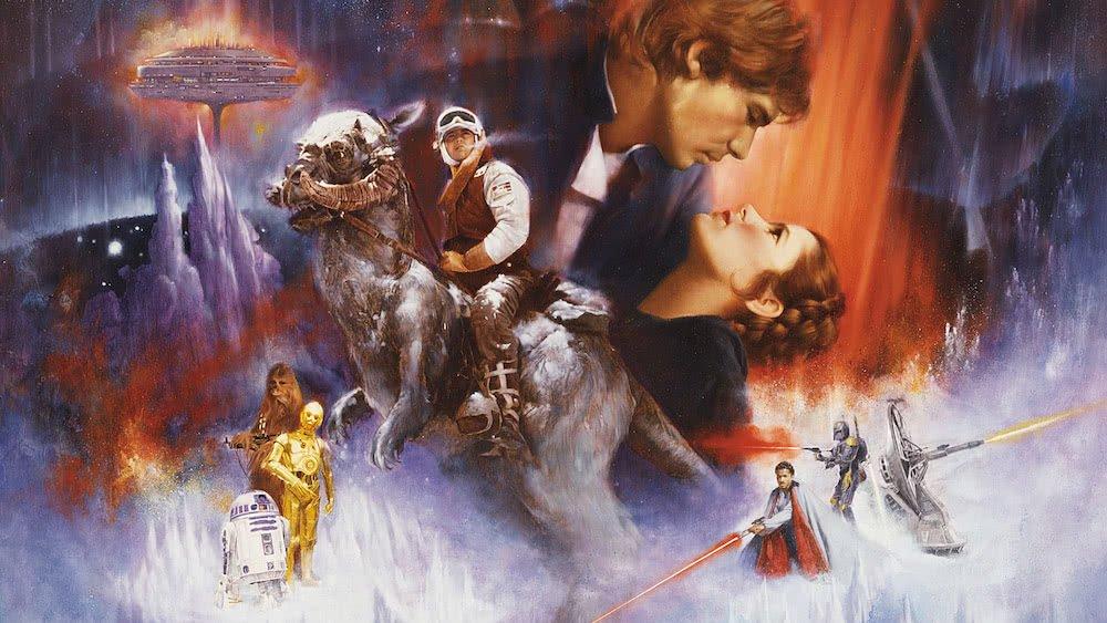 Poster für Star Wars Episode V Das Imperium schlägt zurück