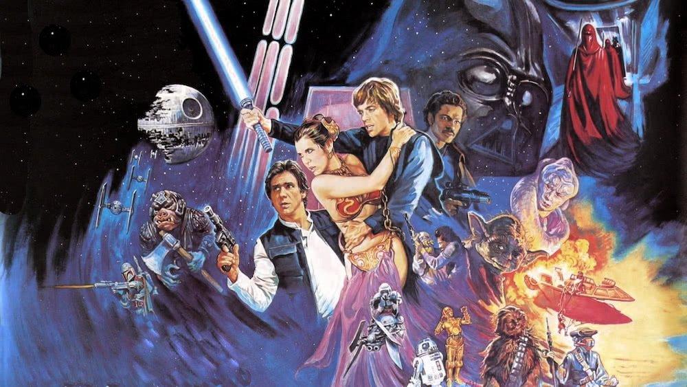 Poster für Star Wars Episode VI Die Rückkehr der Jedi-Ritter