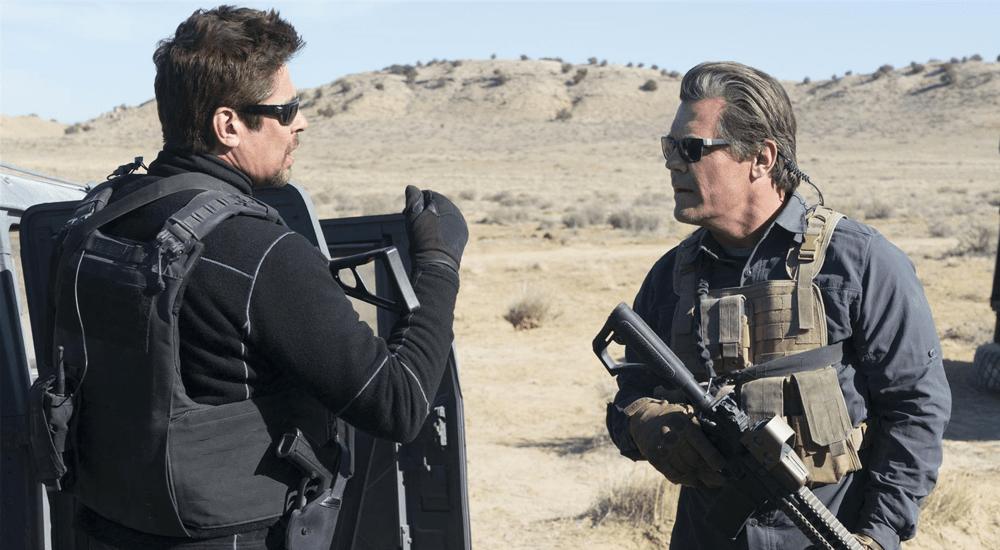 Benicio del Toro und Josh Brolin als Soldaten in Sicario 2
