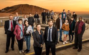 Titelbild für Kritik Broadchurch Staffel 3 mit dem kompletten Haupt-Cast