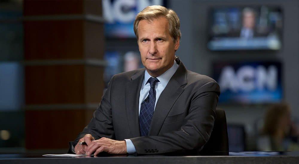 Jeff Daniels als Nachrichtensprecher Will McAvoy in The Newsroom