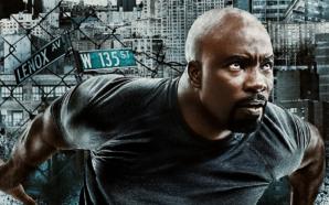 Plakat mit Hauptdarsteller zur Netflix Serie Marvel's Luke Cage Staffel 2