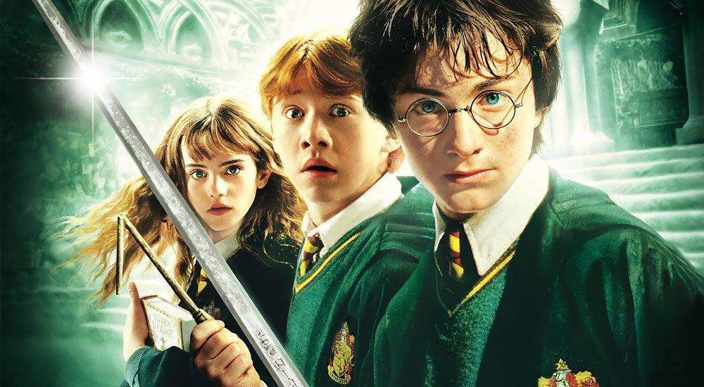 Harry, Ron und Hermine in der Kamera des Schreckens