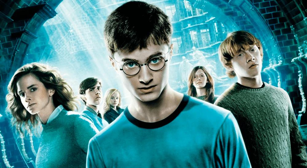 Harry, Ron und Hermine im Zaubereiministerium in Harry Potter 5 und der Orden des Phönix