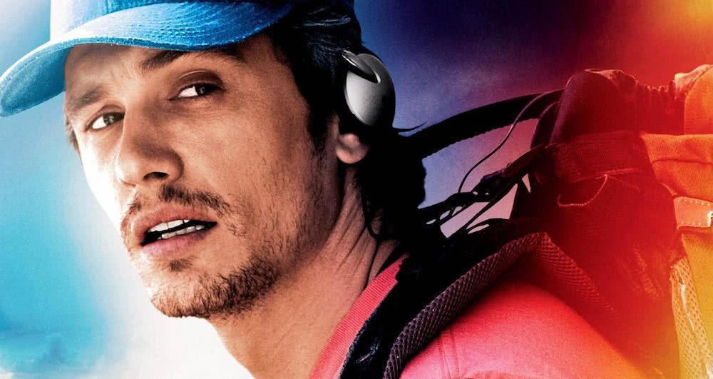 James Franco auf einem offiziellen Poster für 127 Hours