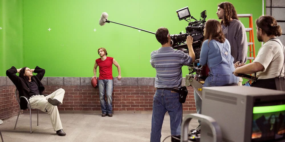 James und Dave Franco in einem Szenenbild aus The Disaster Artist