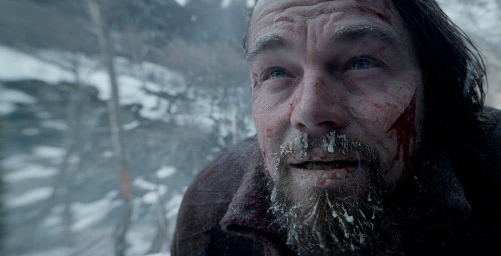 Leonardo DiCaprio in einem Szenenbild aus The Revenant