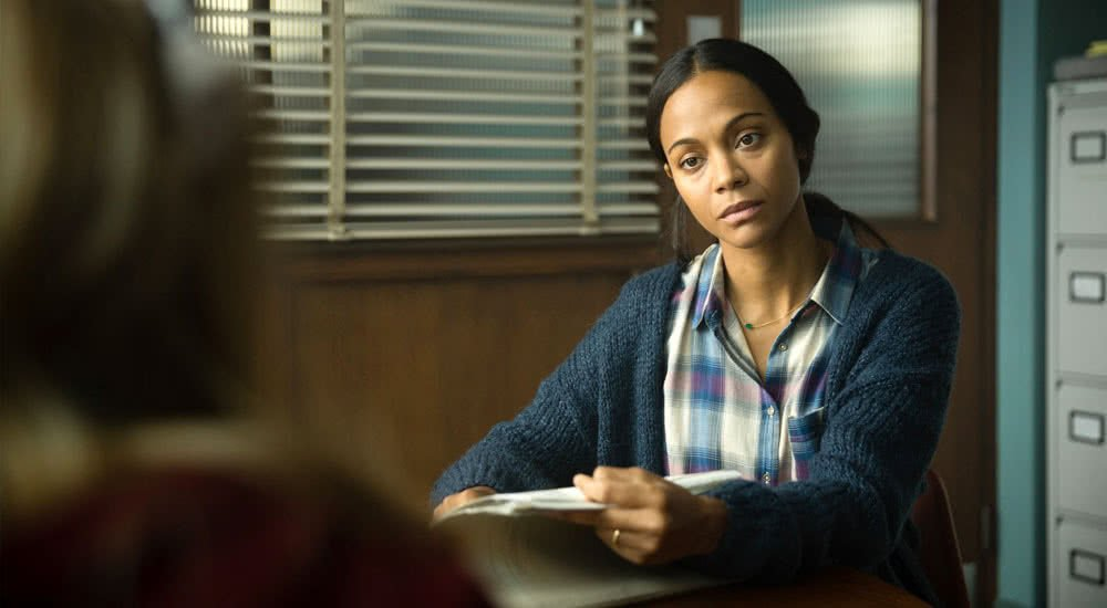 Zoe Saldana als Therapeutin in I Kill Giants
