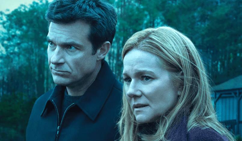Jason Bateman und Laura Linney auf dem Poster von Ozark Staffel 2