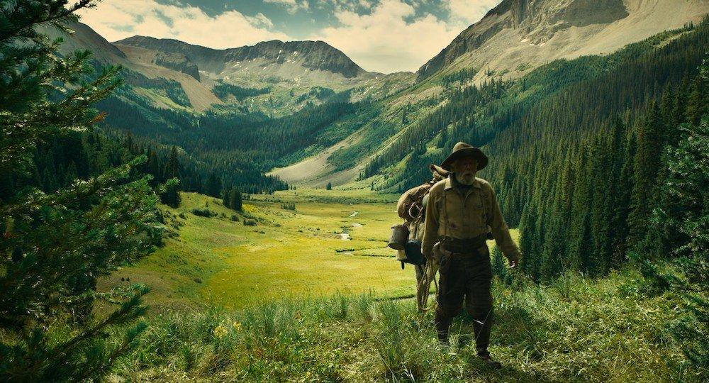 Tom Waits als Goldgräber in einem Szenenbild für Kritik The Ballad of Buster Scruggs Folge 3