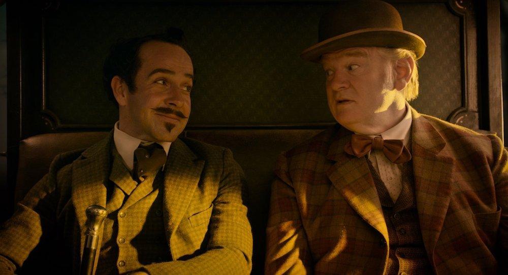 Jonjo O'Neill und Brendan Gleeson in einem Szenenbild für Kritik The Ballad of Buster Scruggs Folge 6