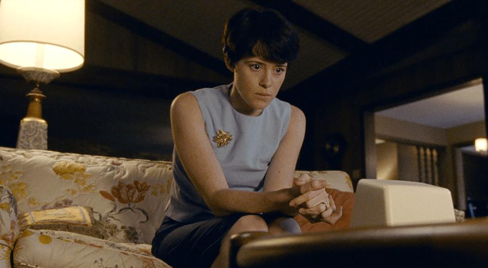 Claire Foy als Janet Armstrong in Aufbruch zum Mond