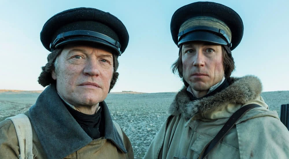 Jared Harris und Tobias Menzies in The Terror Staffel 1