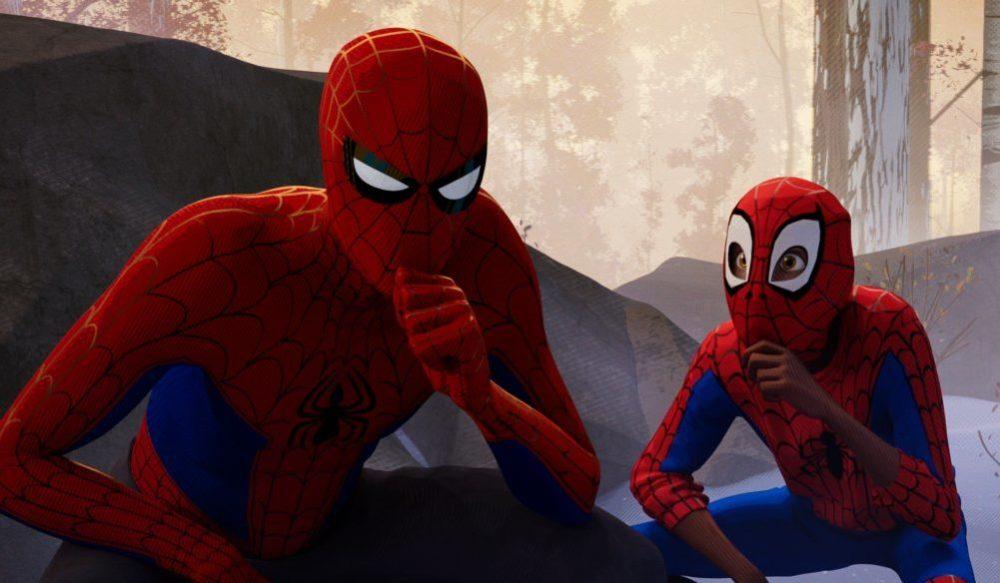 Peter B. Parker (Jake Johnson) und Miles Morales (Shameik Moore) grübeln einen Plan aus.
