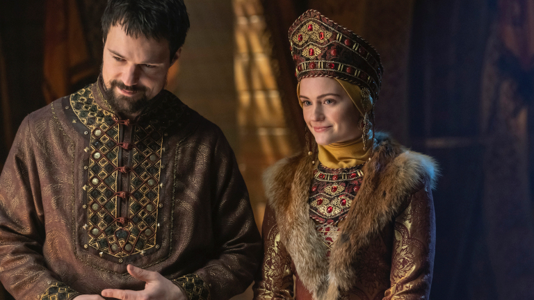 Vikings Staffel 6 Teil 1 6A mit Prinz Oleg und Freydis / Katya