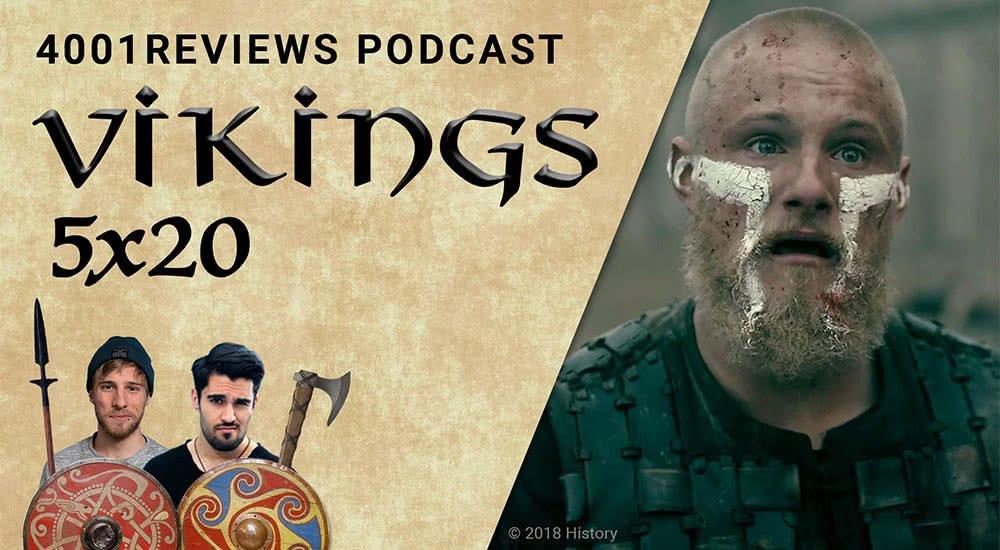 Ein zutiefst enttäuschter und verzweifelter Ubbe in Vikings Staffel 5 Folge 20 Ragnarok