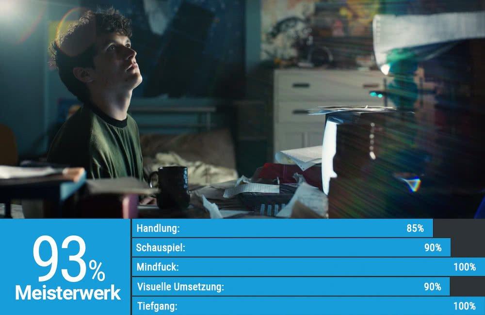Stefan Butler gespielt von Fionn Whitehead in einer Szene von Black Mirror Bandersnatch
