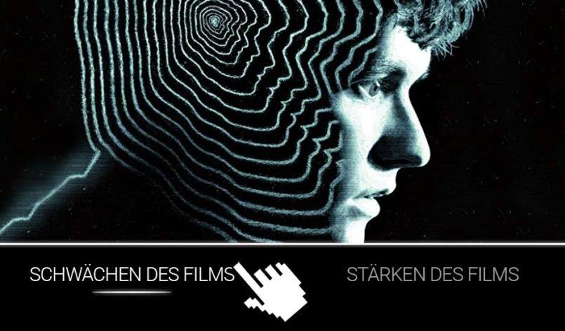 Labyrinth-Muster auf dem Kopf von Stefan Butler gespielt von Fionn Whitehead im interaktiven Film Black Mirror: Bandersnatch