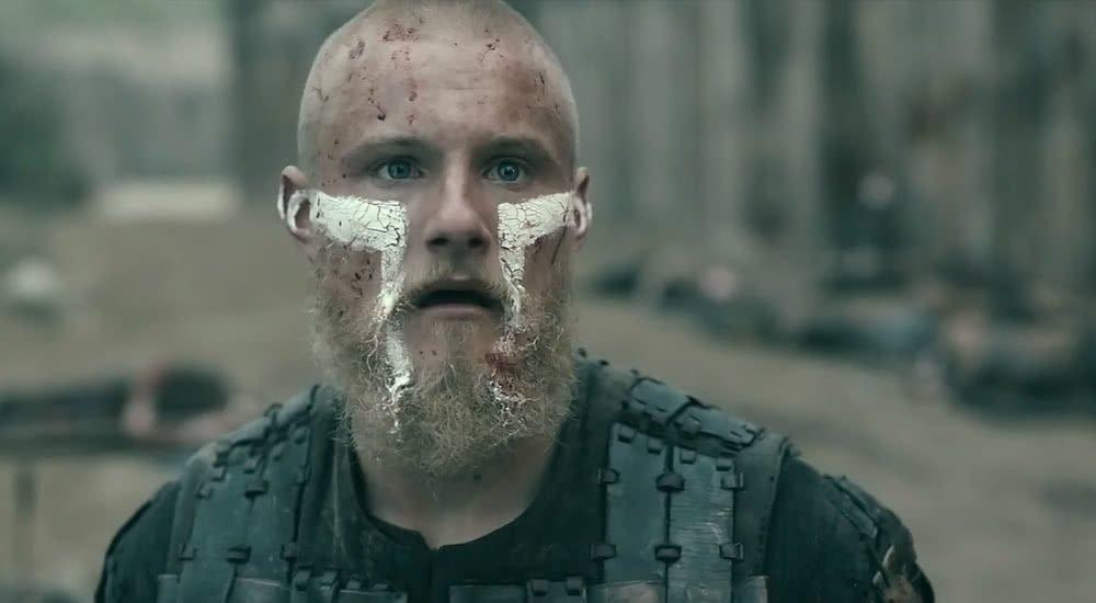 Alexander Ludwig als Björn Ragnarsson in Vikings Staffel 5