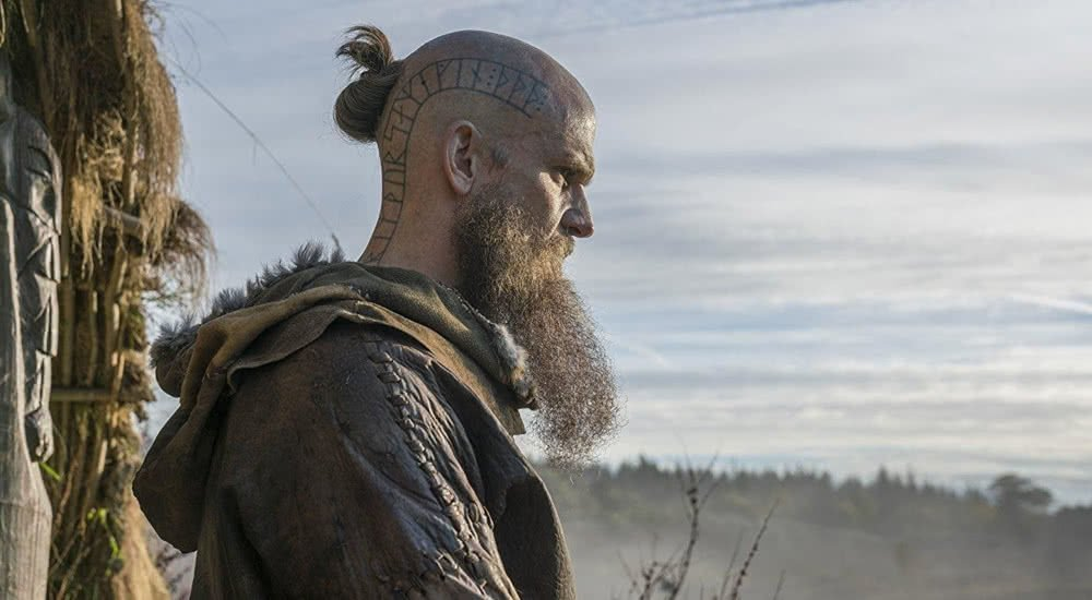Gustaf Skarsgård als Rollo in Vikings Staffel 5