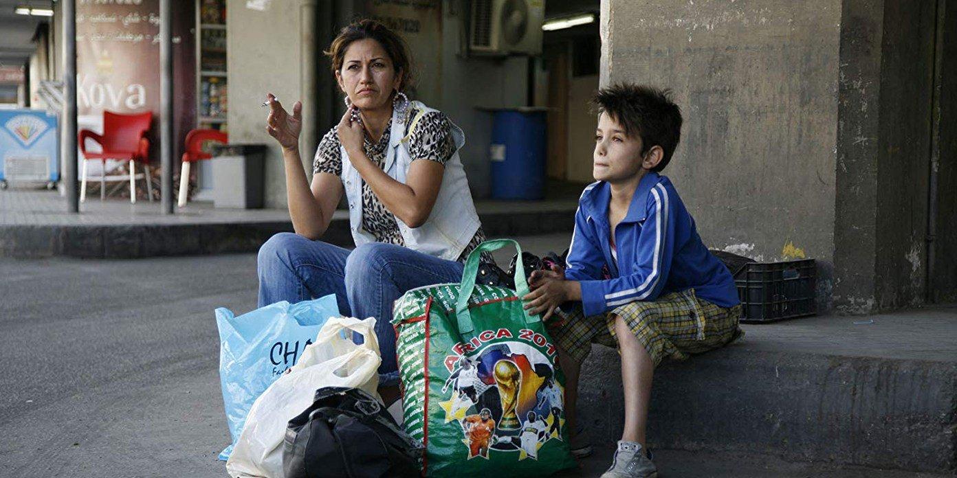 Nadine Labaki und Zain Al Rafeea in einem Szenenbild für Kritik Capernaum Stadt der Hoffnung
