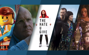 Titelbild für Top 5 Kinostarts Februar 2019 mit The Lego Movie 2, Vice, The Hate U Give, Asche ist reines Weiß und Alita Battle Angel