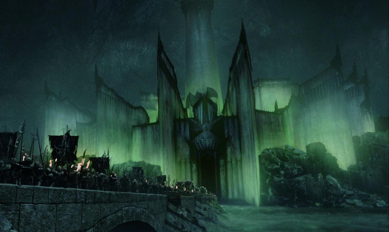 Minas Morgul in Der Herr der Ringe die Rückkehr des Königs