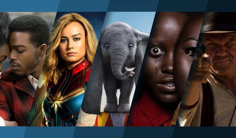 Titelbild für Top 5 Kinostarts mit Beale Street, Captain Marvel, Dumbo, Wir und The Sisters Brothers