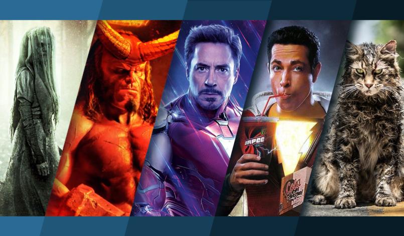 Titelbild für Beitrag Top 5 Kinostarts mit Llorenas Fluch, Hellboy, Avengers Endgame, Shazam und Friedhof der Kuscheltiere