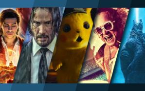 Titelbild für Top 5 Kinostarts im Mai mit Aladdin, John Wick 3, Detective Pikachu, Rocketman und Godzilla