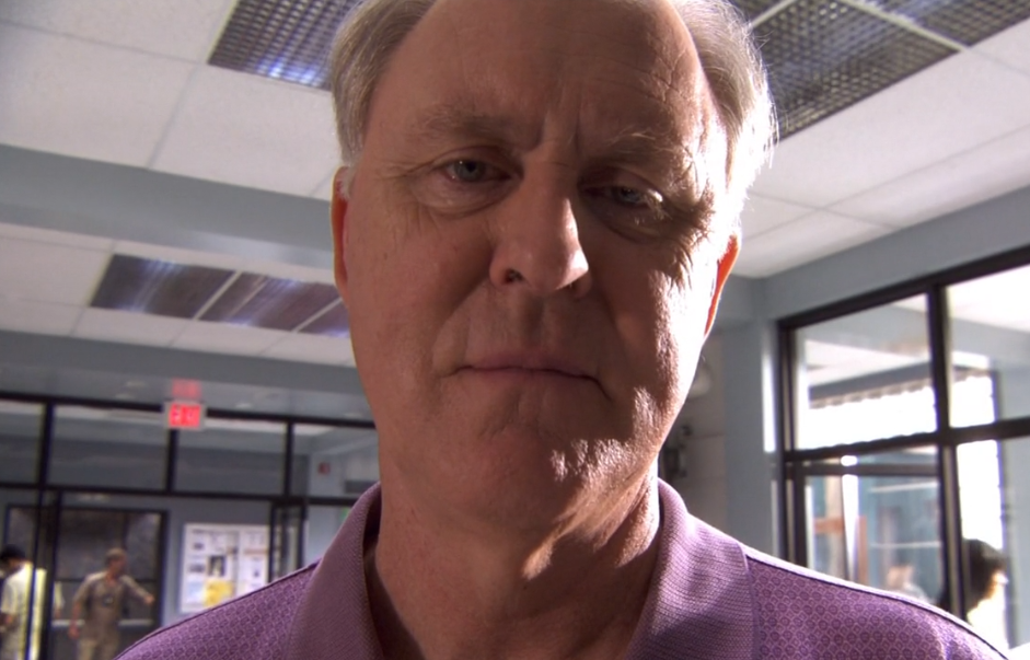 John Lithgow als Arthur Mitchell aka Trinity-Killer in einem Bild aus Dexter Staffel 4